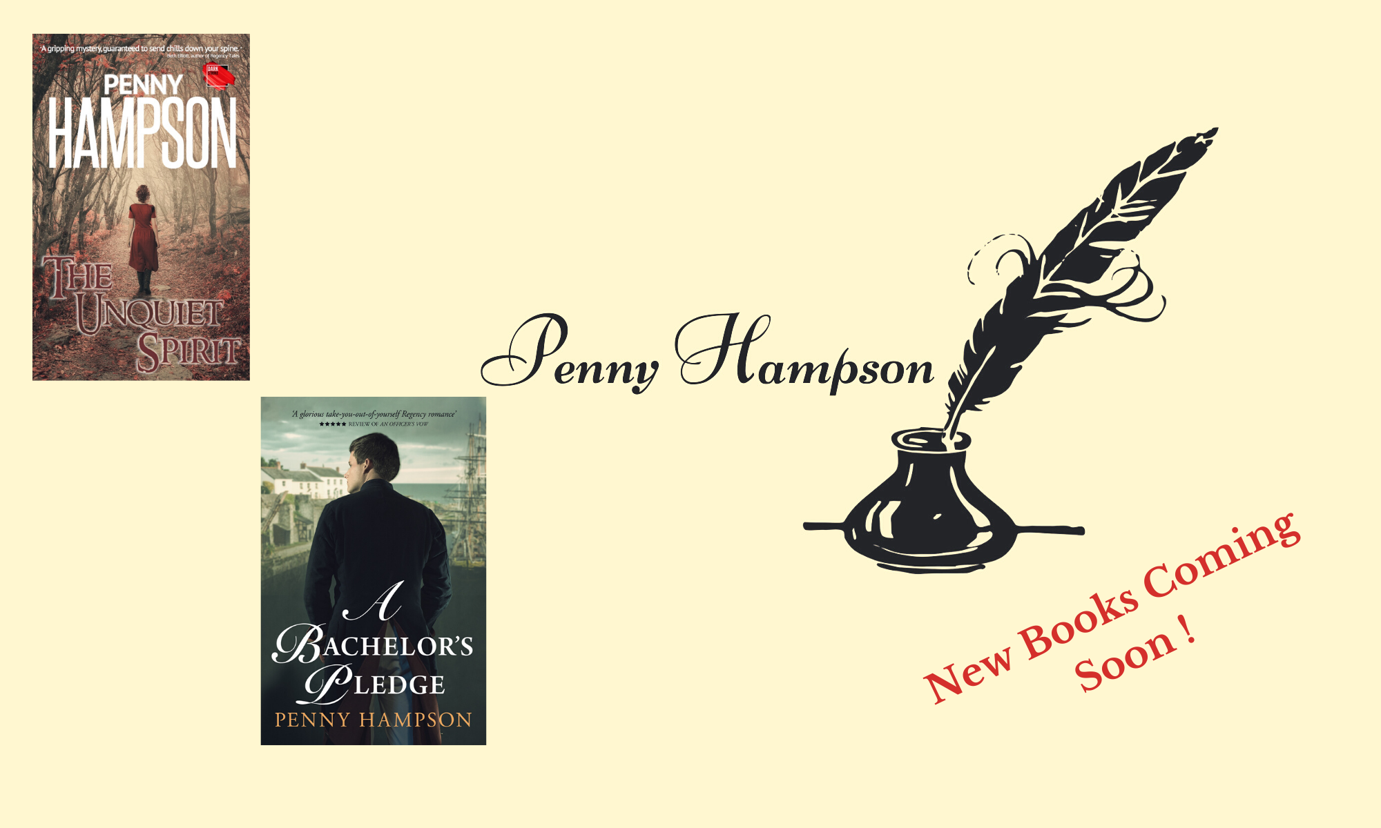 Penny Hampson - Writing History, Mystery, and .... a Touch of Romance